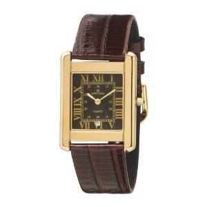 Mens Toledo Dress Watch - Sartego Men's SED122R Toledo Leather Strap