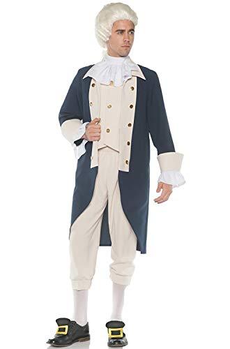 Men's Founding Father Hamilton/Washington Costume, OS