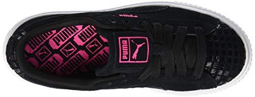 Street Platform Puma Femme Puma 2 04 Suede Black Basses Wn's Noir knockout Sneakers Pink qExnpfUwcA