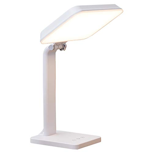 Theralite Aura Bright Light Therapy Lamp - 10,000 LUX - Sun Lamp Mood Light to Fight Low Energy and Sunlight Deprivation