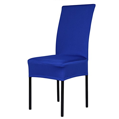 universal paddy stretch removable dinning room office hotel stool chair cover royal blue