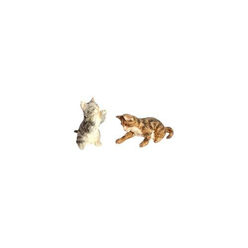 ドールハウスミニチュアPlaying B00P06SFCE Kittens BR Kittens and and GY B00P06SFCE, 高来町:3ed4c271 --- srv.ferraridentalclinic.com.lb