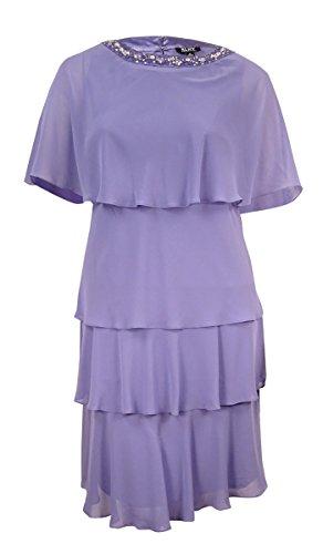 Sheer Embellished Party Dress - 3