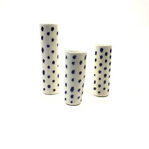 Set of Tube Bud Vases