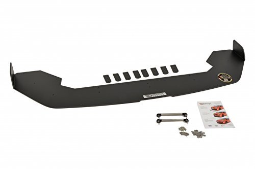 Racing Front Splitter - Maxton Design Front Racing Splitter Fiesta MK7 ST Facelift (with Wings)