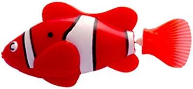 ミニバスおもちゃバイオニックフィッシュ電気水泳魔法ルバオ魚水中世界深海電子センシング魚