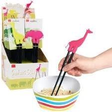 - DCI Safari Stix - Animal Chopstick Holder - Green Elephant