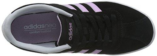 adidas Mujer Deporte negro de para W Zapatillas Courtset rYBgOr