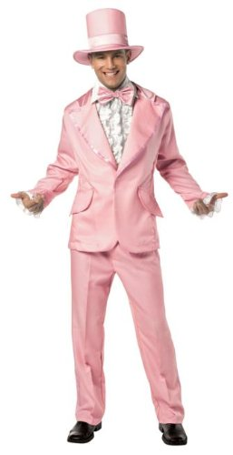 Funky Tuxedo (Pink) Adult Costume Size One-size (Standard) (Funky Tuxedo Adult Men Costume)