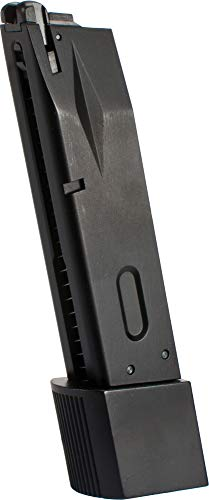 - Evike WE-Tech 30rd Burton Extended Magazine for M9 Series Airsoft GBB Pistols