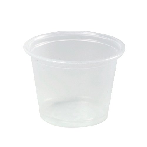 Dart 400PC Conex Complements Portion/Medicine Cups, 4oz, Clear, 125 Per Bag (Case of 20 (Dart Conex Clear Cup)