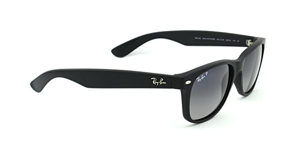 Amazon.com: Ray-Ban rb2132 601s78 Wayfarer polarizadas/Negro ...