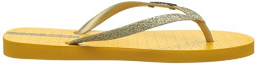 Ipanema IpanemaLolita III Fem, Chanclas Mujer Amarillo (Yellow/Gold)