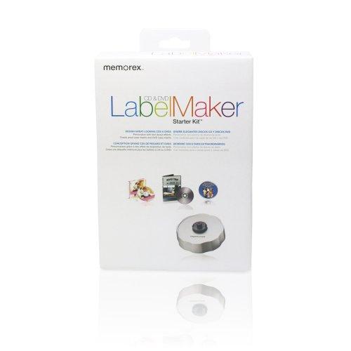 Design Kits Cd Dvd Label (Memorex Label Maker Starter Kit (Discontinued by Manufacturer))