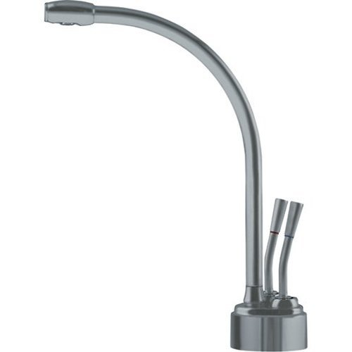 - Franke LB9280 Logik Little Butler Two Handle Under Sink Hot and Cold Water Filtration Faucet, Satin Nickel