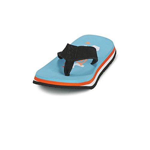 Cool Shoes Original Pi CURACAO , Blau Flip Flops Sandalen Zehentrenner Strandlatschen Badeschlappe Bleu