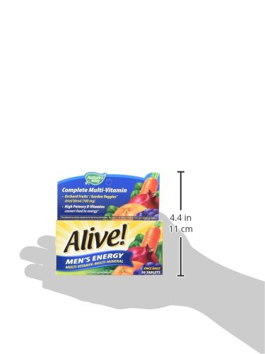 033674601945 - Nature's Way Alive! Men's Energy Tablets, 50 Count carousel main 8