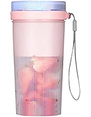 Draagbare Blender, Persoonlijke Elektrische Juicer Fruit Mixer Machine Multifunctionele Handheld Juicer Cup voor Sap, Smoothie en Milkshake, Oplaadbare USB