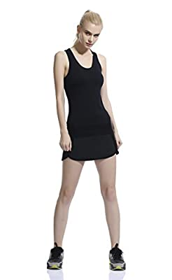 HonourSport Women's Casual Gym Tennis Skirt with Shorts