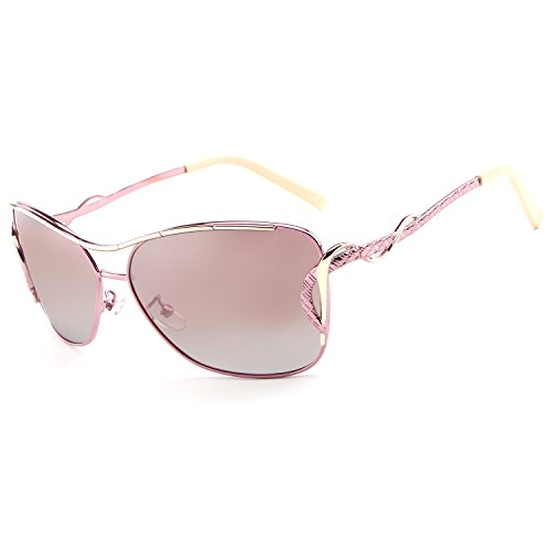 UV400 Polarized Driving Sunglasses Aviator Glasses Goggles - 5