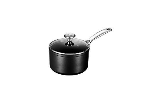 Le Creuset of America Toughened NonStick Saucepan with Lid, 2 quart