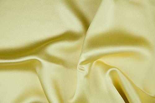 Custard Silk Crepe Back Satin ()