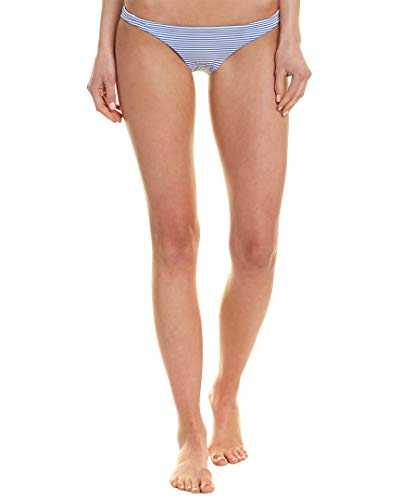 Vitamin A Swimwear Women's Luciana Full Coverage Bottoms Hamptons Stripe 4