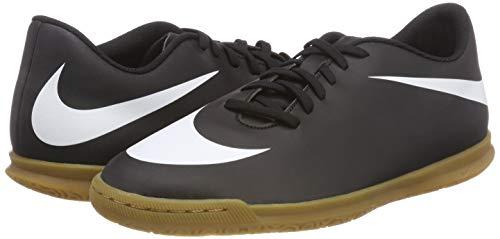 Nike black white 001 Indoor Ic Calcetto Scarpe black Bravata Ii Da Nero Uomo wx4BCfwq