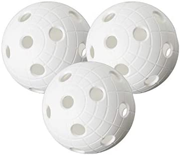 Unihoc CR8ER - Juego de pelotas de floorball (3 unidades), color ...