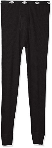 Dickies Men's Big Classic Thermal Waffle Pant, Black Soot, (Big Thermal)
