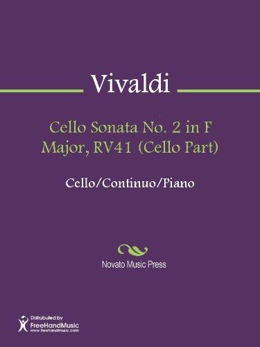 Cello Sonata No. 2 in F Major, RV41 (Continuo Part) - Continuo | Sheet Music Now