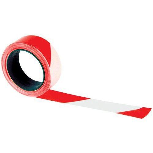 Rubalise (lot de 36) rouge et blanc 50 mm x 100 m - Ruban de signalisation de chantier, travaux, balisage - périmètre de sécurité - zone de danger - marque UNIVERS GRAPHIQUE Ref UGRUBAL01 UGRUBAL01-36