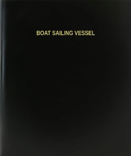 BookFactory® Boat Sailing Vessel Log Book / Journal / Logbook - 120 Page, 8.5