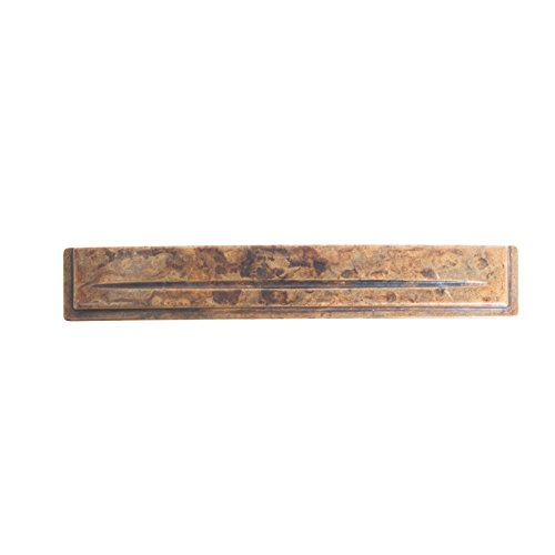 Bosetti Marella 101530.03 Handle Pull, 5.92-Inch by 0.98-Inch, Antique Brass Distressed