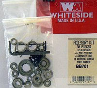 Whiteside Router Bits BB701 Accessory Kit, 36-Piece