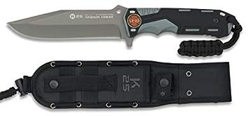 K25-32117GR1005 - Cuchillo Gris/Negro Hoja 13.5 cm ...