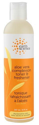 Earth Science Aloe Vera Complexion Toner and Freshener -- 8 fl oz (pack of ()