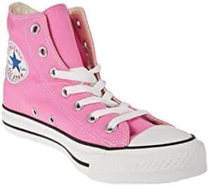 Converse Unisex Chuck Taylor All Star High Top (5.5 D(M) Men = 7.5 B(M) Women, Pink)