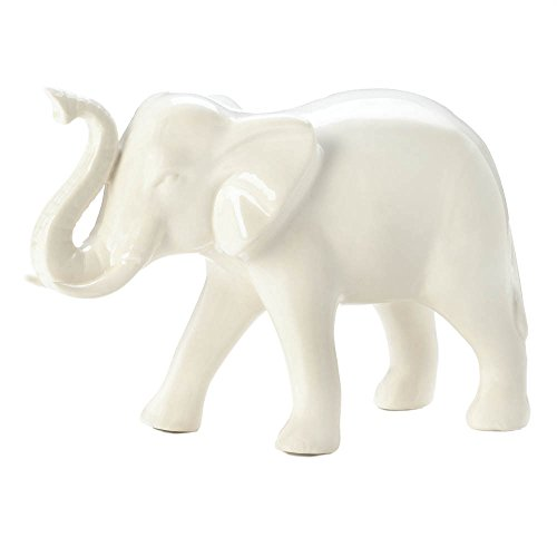 Classic white decorative elephant