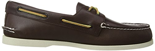 Sperry A/O 2-Eye - Zapatos de cordones Marrón (Black/bronze)