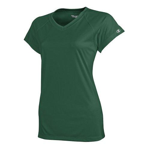 Champion doble seco 4.1oz. Interlock Camiseta Verde - Verde oscuro