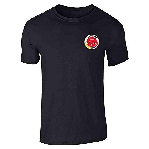 Colombia Futbol Soccer Retro National Team Sports Black S Short Sleeve  T-Shirt