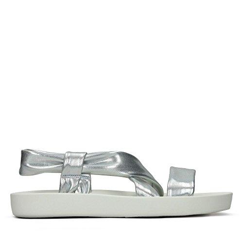 Sandals Clarks Silver in Textile Seanna Rise tqtfYwBTH