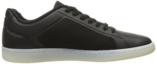 Lacoste Men's Endliner 416 1 Spm Fashion Sneaker, Black, 7.5 M US
