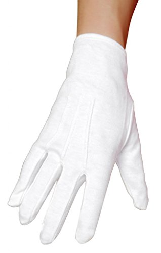 Sexy Short Pin Up Gloves Halloween Accessory -