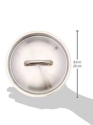 Matfer Bourgeat Lid for Matfer Cookware, 7 1/8-Inch, Gray by Matfer Bourgeat (Image #2)