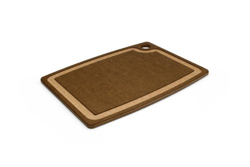 Epicurean Gourmet Series 15-Inch-by-11-Inch Cutting Board with Cascade Effect, Nutmeg with Natural Core