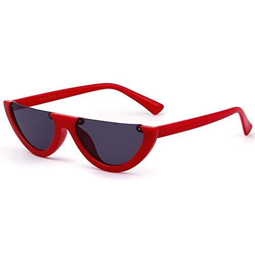 Clout Goggles Cat Eye Sunglasses Half Frame Vintage Mod Style Retro Kurt Cobain Eyewear (Discount Designer Glasses)