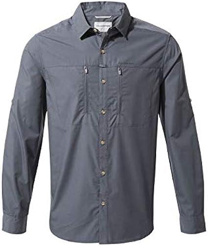 Craghoppers Kiwi Boulder Long Sleeved - Camisa de Manga Larga Hombre: Amazon.es: Ropa y accesorios
