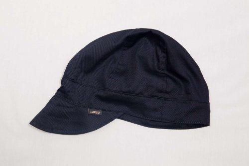 Lapco FR LAP 6CB-7 7/8 6-Panel Welder's Caps, 100% Cotton, 7 7/8'', Black by Lapco FR